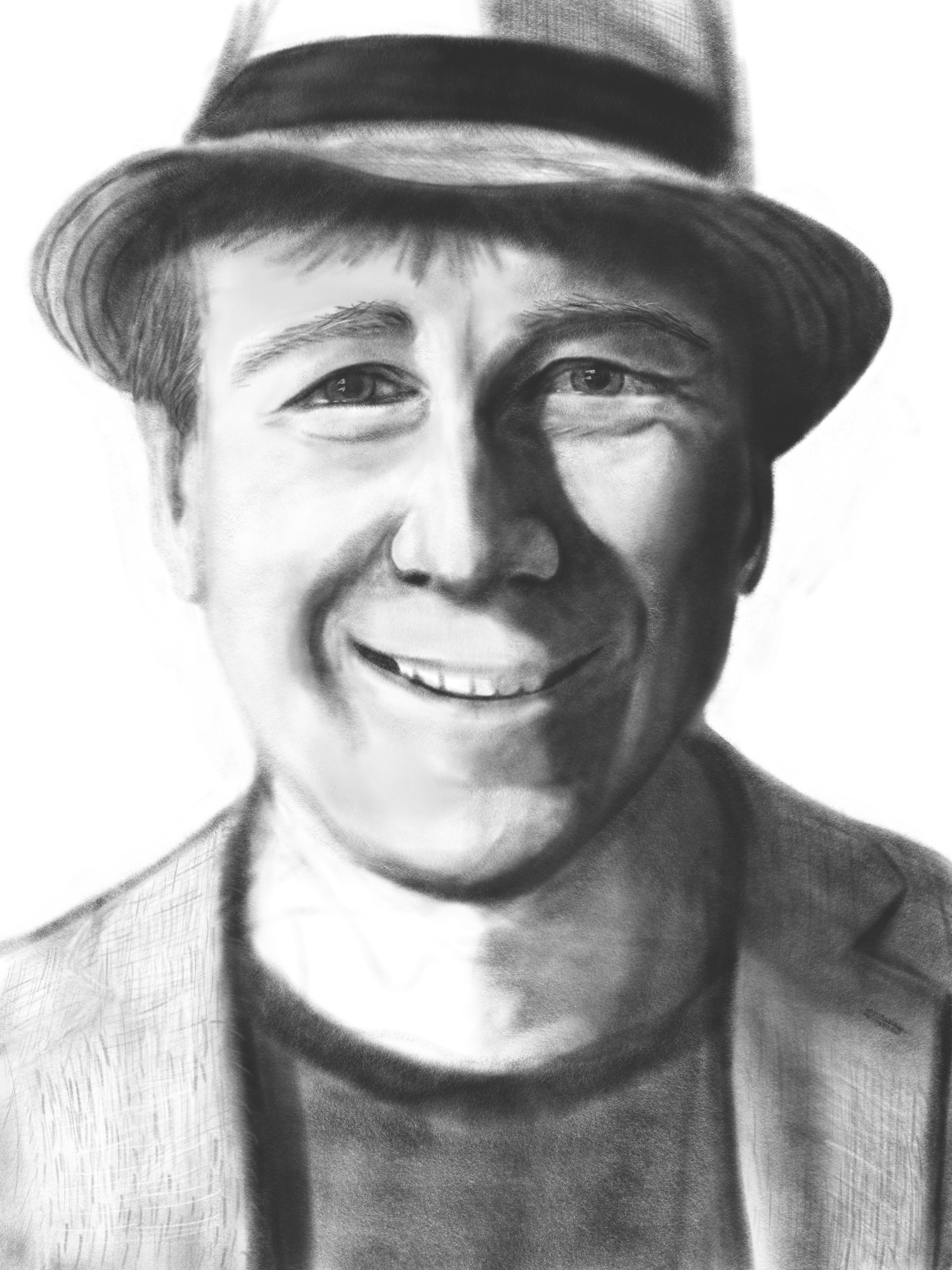 Charcoal Sketch of me